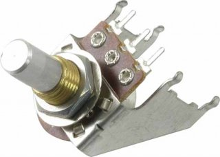 Potentiometer - Reverse Audio, Solid Shaft, Snap-In, 16mm<img class='new_mark_img2' src='//img.shop-pro.jp/img/new/icons21.gif' style='border:none;display:inline;margin:0px;padding:0px;width:auto;' />