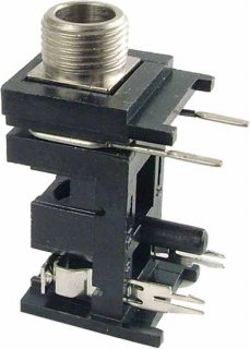 Jack - Peavey, 1/4'', Mono, PC Mount