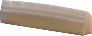 Nut - Gold Tone, Zero Guide Slotted