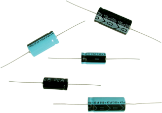 Capacitor - 160V, Axial Lead Electrolytic