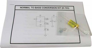 Amp Mod Kit - MOD Kits, Normal to Bass Conversion