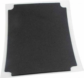 Replacement Pad - Dunlop, Rubber Slide
