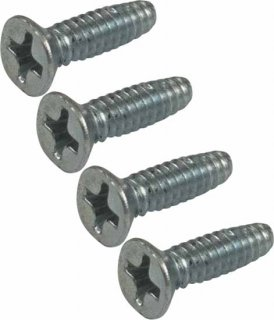 Screws - Dunlop, MXR, housing screws, package of 4