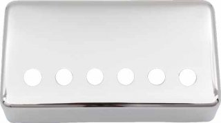 Cover - Humbucker, PAF, 49.2mm, Nickel Silver, USA
