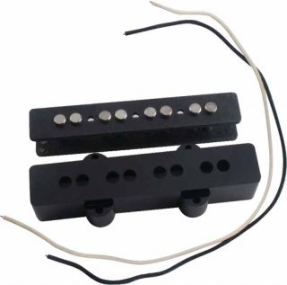 Pickup Kit - J-Bass, Black Cover