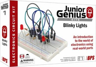 Kit - BusBoard, Junior Genius Blinky Lights Kit