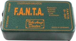 Effects pedal - Tube Amp Doctor, F.A.N.T.A. Speaker Emulator