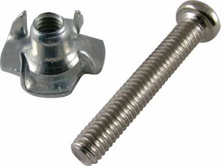 Screw - 1'', Phillips, Pan Head, Matching T-Nut