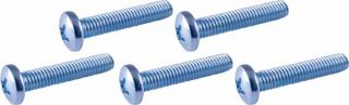 Screw - 10-32, Phillips, Pan Head, Machine, Zinc, fine thread  Package of 5