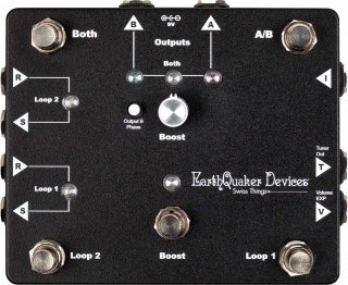 Effects Pedal – EarthQuaker Devices, Swiss Things, Pedalboard Reconciler