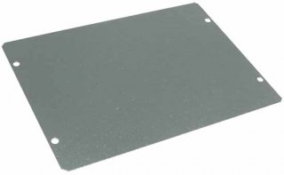 Cover Plate - Hammond, Steel, 7'' x 5'', 20 Gauge
