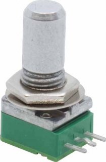 Potentiometer - Alpha, Reverse Audio, 9mm, Right Angle, 25KΩ