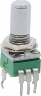 Potentiometer - Alpha, Reverse Audio, 9mm, Vertical, 50K
