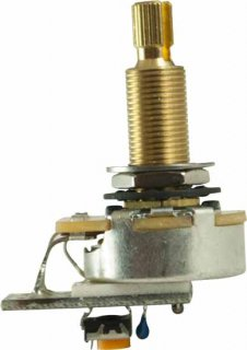 Potentiometer - PMT, Audio, Variable Treble Bleed, 3/4''