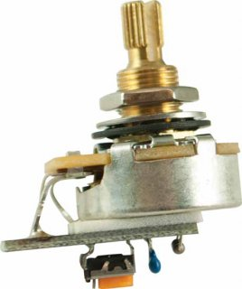 Potentiometer - PMT, CTS, Audio, Variable Treble Bleed, 3/8''