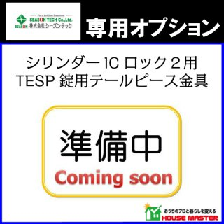 TESP錠用テールピース金具 シリンダーICロック2用