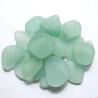 ビーチグラス素材(アップルグリーン2〜2.5cm) SS-27