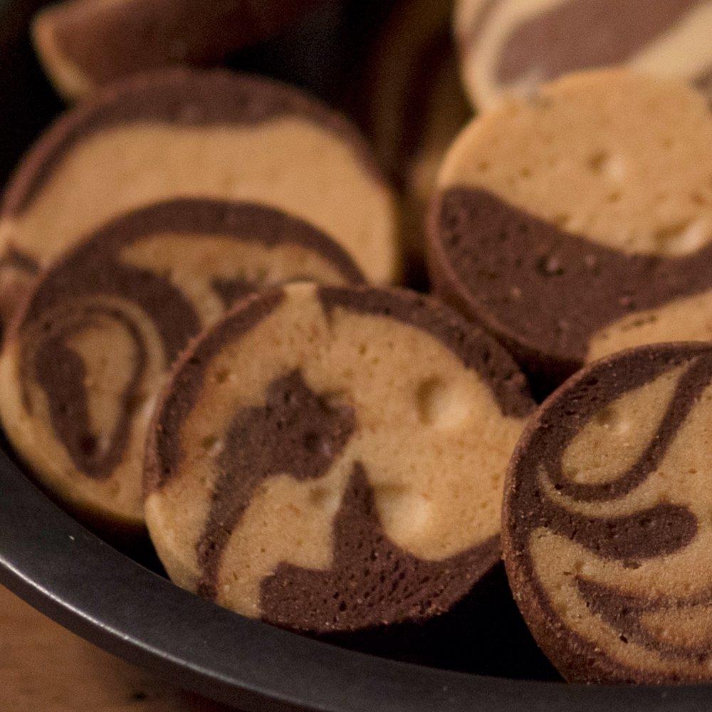 がんばクッキー/ココアマーブル