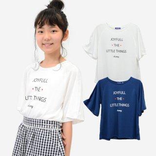 シフォン切替 ドルマンTシャツ