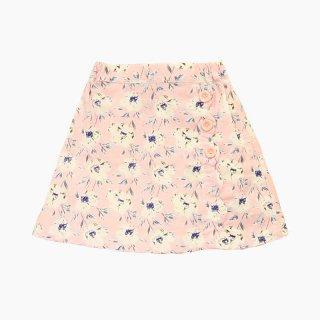 花柄スカラップスカート