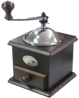【滑り止めマット付】プジョー コーヒーミル ノスタルジー 茶木 841-1【正規輸入品】