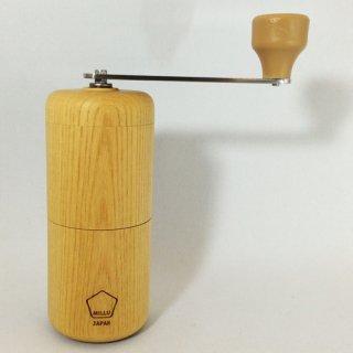 MILLU(ミルル) セラミック ウッドコーヒーミル【欅】 MI-008