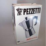 【交換用パッキンプレゼント】PEZZETTI ペゼッティ 直火式エスプレッソメーカー【2人用】