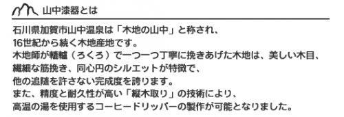 安清式木製ドリッパー1〜2人用 ブラウン
