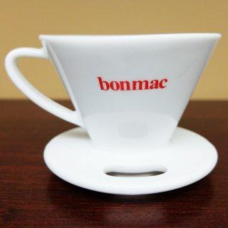 bonmac ボンマック V型磁器ドリッパー 1〜2杯用 VCD-1W