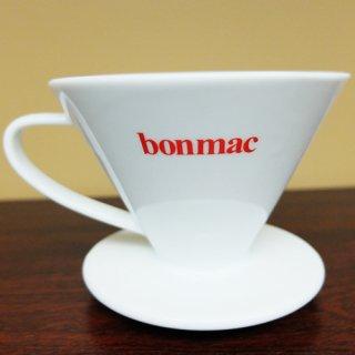 bonmac ボンマック V型磁器ドリッパー 1〜4杯用 VCD-2W