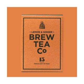 Brew Tea Co レモンジンジャー ティーバッグ15個入