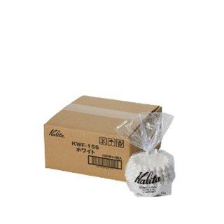 Kalita カリタ ウェーブフィルター 155 ホワイト 100枚入 KWF-155(100P) #22213