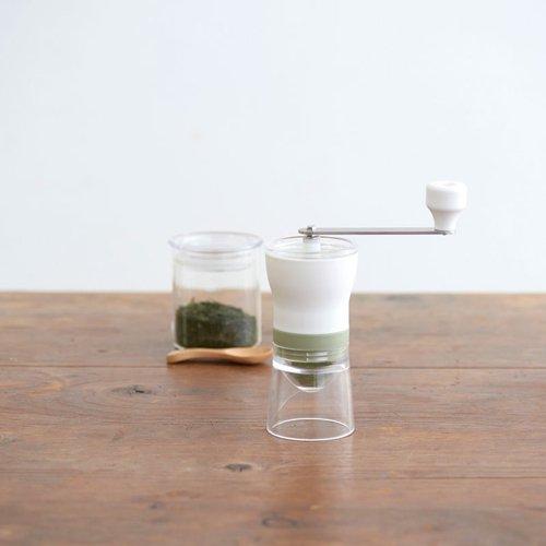 【HARIO/ハリオ】お茶ミル・チャコ スモーキーグリーン OMC-1-SG