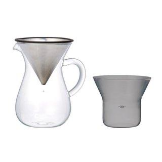 SCS-02-CC コーヒーカラフェセット 300ml 2CUP用
