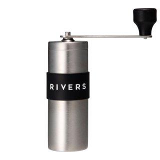 コーヒーグラインダー グリット シルバー RIVERS GRIT