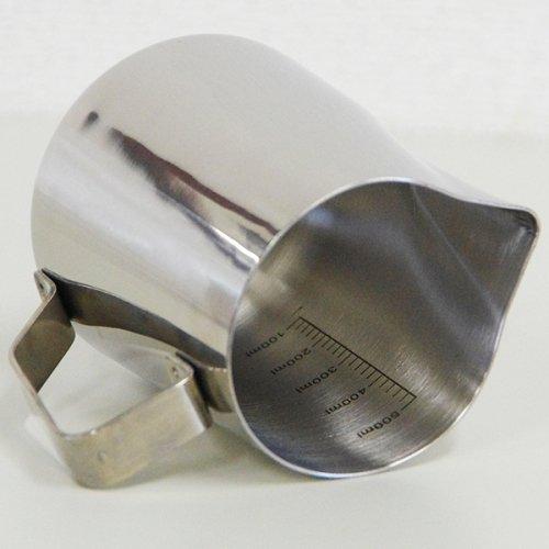Latte Art Pitcher ラテアートピッチャー 目盛り付きミルクピッチャー12oz 815000
