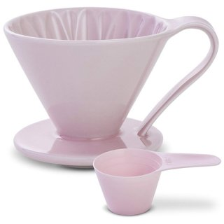 CAFEC 磁器フラワードリッパー CUPS4 Pink【桜】 CFD-4PI 2〜4杯用