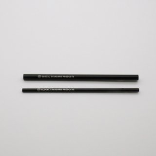 GLOCAL STANDARD PRODUCTS GSP Straws ストロー ブラック