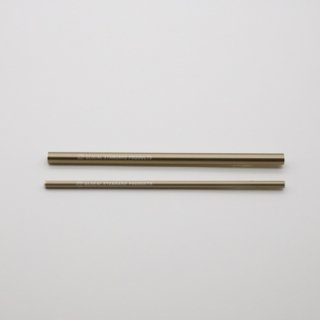 GLOCAL STANDARD PRODUCTS GSP Straws ストロー ゴールド