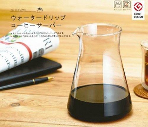 岩城イワキ iwaki ウォータードリップコーヒーサーバーK8644-CL