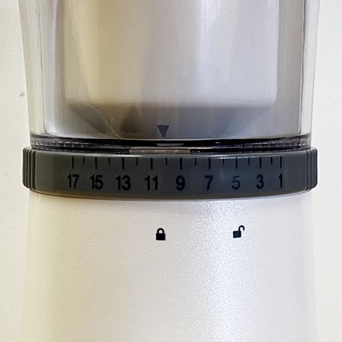 Ren togisumasu Coffee Grinder 電動コーヒーグラインダー パールホワイト 標準タイプ