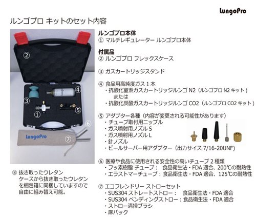 Lungo Pro ルンゴプロ CO2 キット