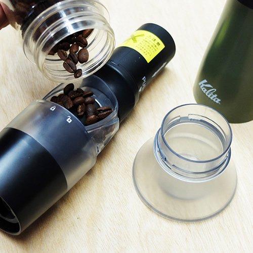 Kalita カリタ 電池式コーヒーグラインダー スローG15(AG)#43037