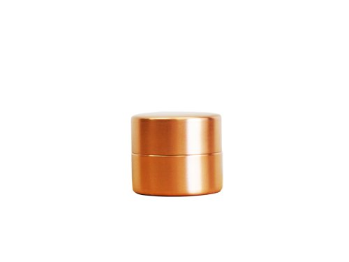 東屋 茶筒 小 銅