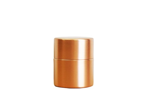 東屋 茶筒 中 銅