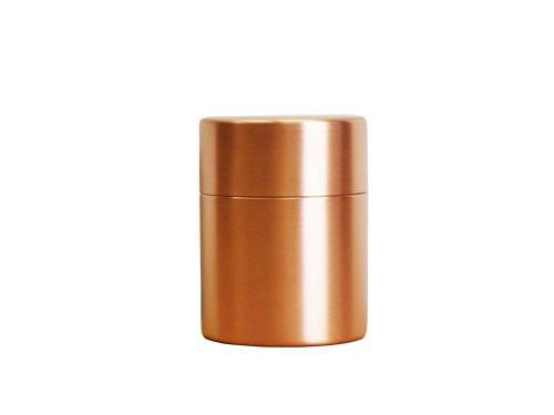 東屋 茶筒 大 銅