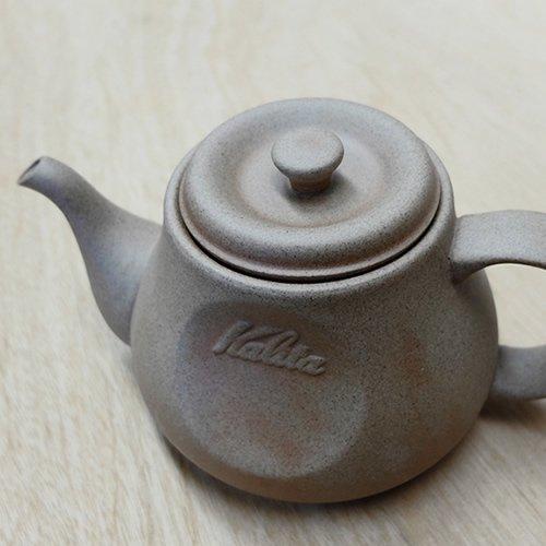 【Kalita×HASAMI】 カリタ 砂岩陶土コーヒーポット【SGコーヒーポット】