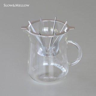 スロー&メロー コーヒーカラフェセット 1〜4杯用 SNDZK1808-02