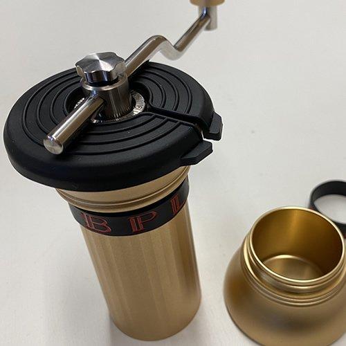 Apollo コーヒーグラインダー シャンパンゴールド