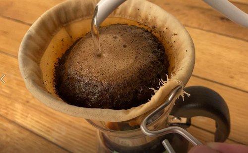 安清式 お手入れいらずの和紙糸コーヒーフィルター 1〜4杯用 持ち手付き